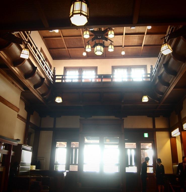 奈良ホテルでほっこり^^