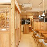 work & cafe Ta-Te(福岡市中央区警固町 ビル内テナント内装)