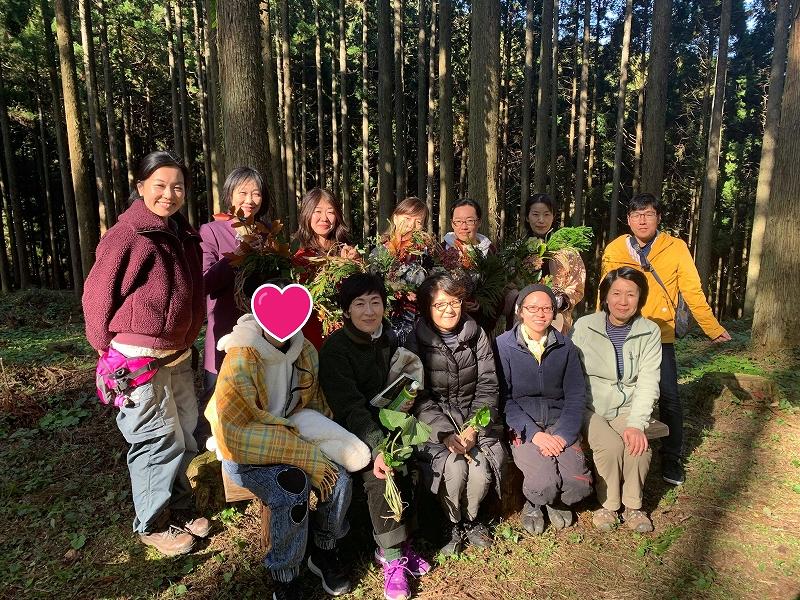 【イベント報告】11/16 森へ行こう!ツアー開催しました🌲