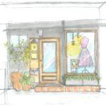 couture fiertemina クチュール フィエルテミナ(福岡市中央区桜坂 木造アパート内テナント内装)